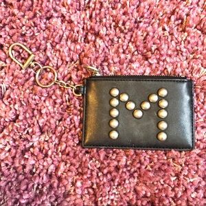 Studded Monogram Card Case and Key Fob